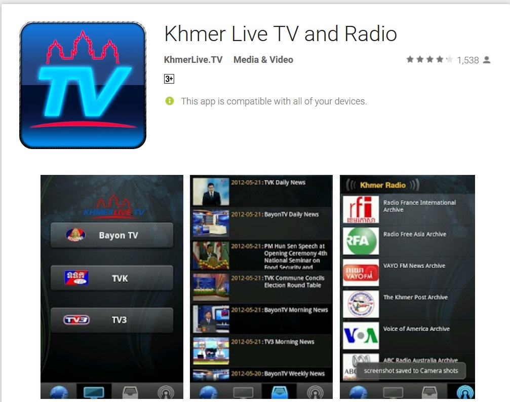 Khmer Live TV and Radio
