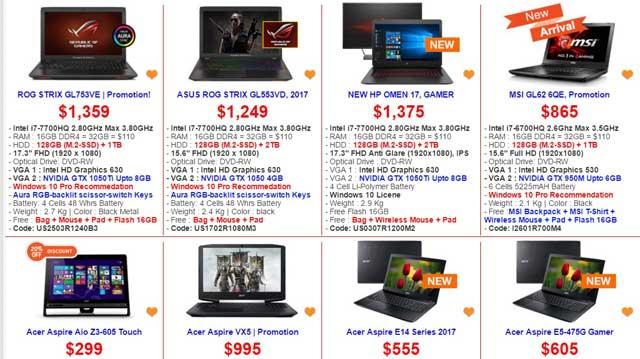 gaming computer store