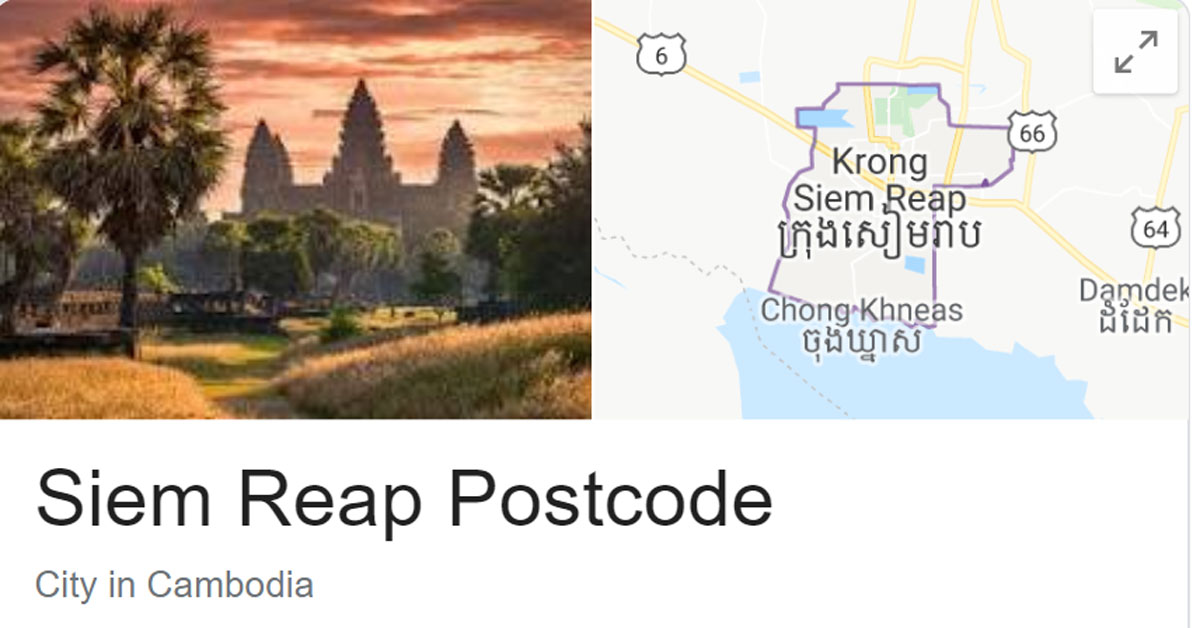 siem reap postcode