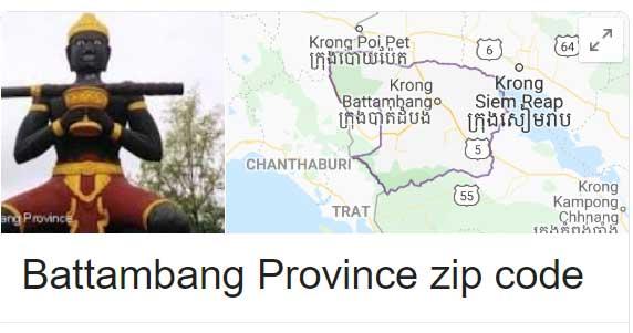 Battambang Province zip code