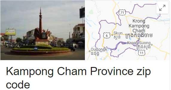 Kampong Cham zip code