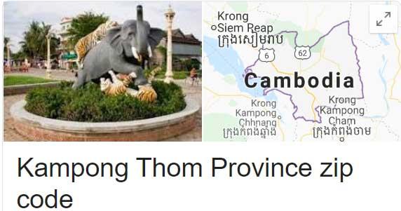 Kampong Thom Province zip code