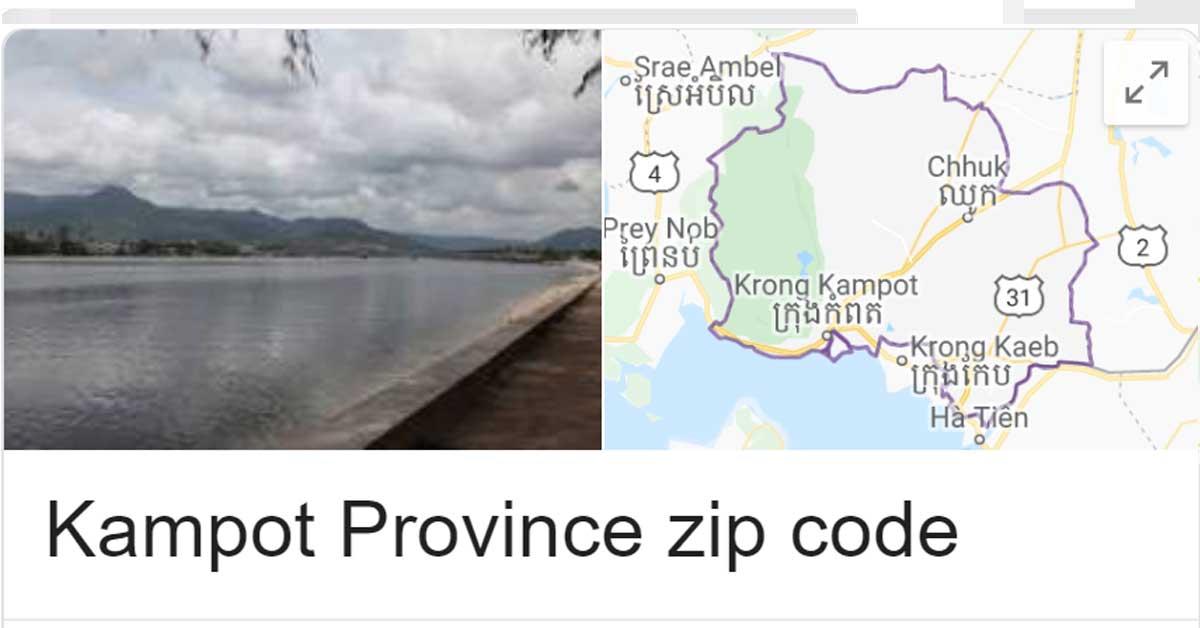 Kampot Province zip code