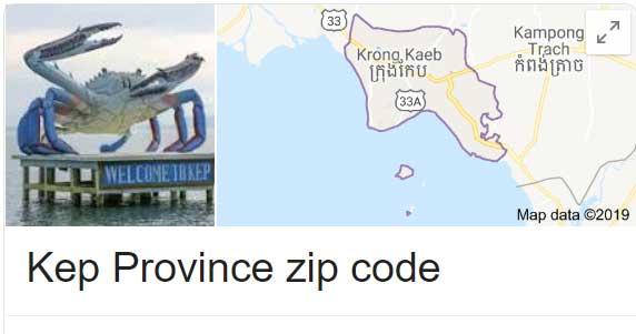 Kep Province zip code