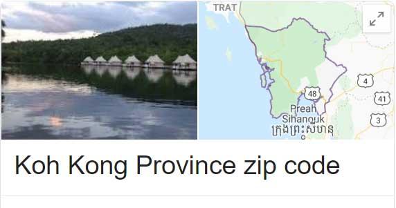Koh Kong Province zip code
