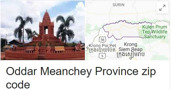 Oddar Meanchey Province zip code